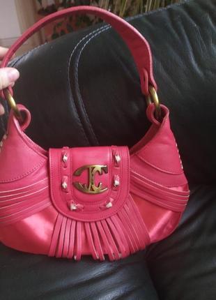 Оригинал roberto cavalli сумка багет винтаж