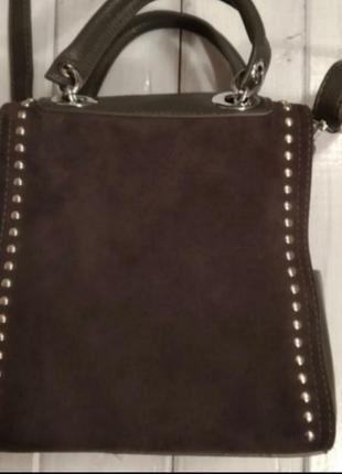 Стильная сумка чемоданчик