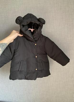 Куртка zara 18-24 92 микки маус