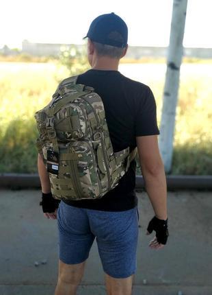 Однолямочный рюкзак на 16 литров с системой m.o.l.l.e (топ качество) мультикам