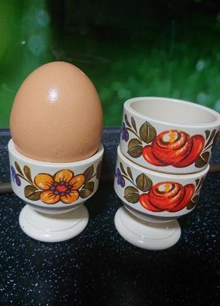 Набор подставок под яйца . винтаж. emsa w. germany