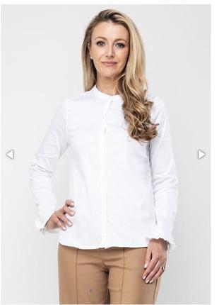Блуза с оборками mos mosh