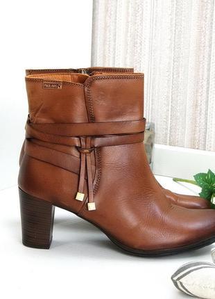 Ботинки, ботильоны pikolinos, испания. натуральная кожа