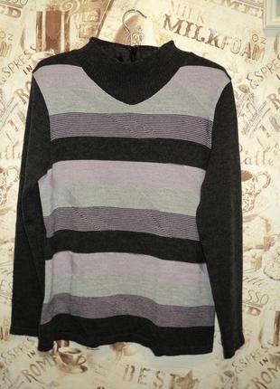 Теплый, практичный свитер, джемпер. 14-16 р.