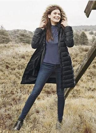 Стеганое термо пальто, пуховик, куртка деми, l 40 euro, esmara, германия