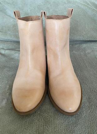 Осінні шкіряні чобітки clarks
