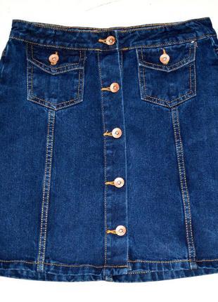 Denim co. отличная джинсовая юбка . 12-13 лет.