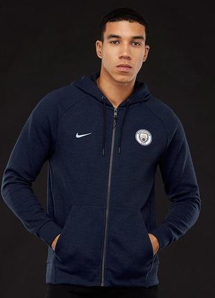 Худи свежие коллекции nike ® manchester city fc optic hoodie