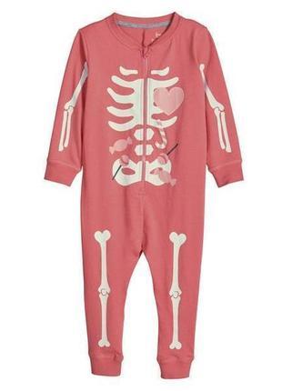 Фирменная пижама/слип со светящимся эффектом lupilu