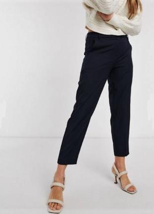 Укороченные брюки под джинс высокая посадка талия от lands'end