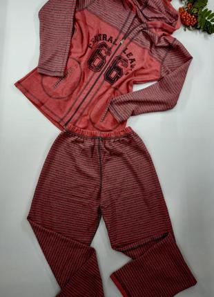Теплый домашний костюм metin 5898