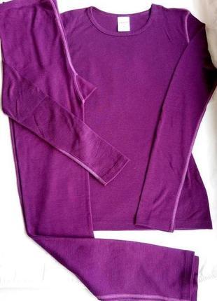 Шерстяной костюм (реглан+лосины) шерсть мериноса термобелье merino термобiлизна