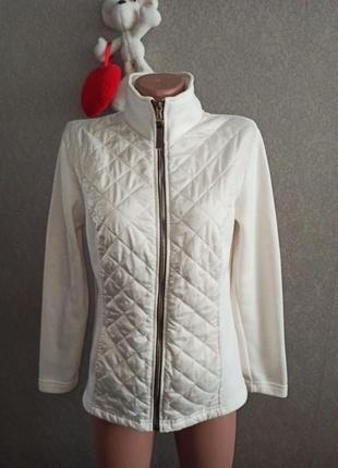 Комбинированная куртка m