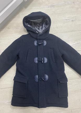 Стильное тёплое пальто на мальчика chicco