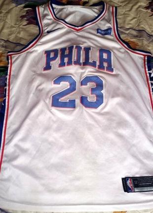 Баскетбольная майка nike nba philadelphia 76ers, butler