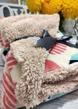 Канадский брендовый плед blankets and beyond теплый пледик одеяло ковдра