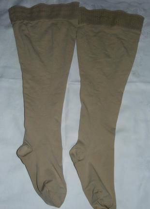 Компрессионные чулки с носком - jobst opaque 1 ccl / 6 размер - германия