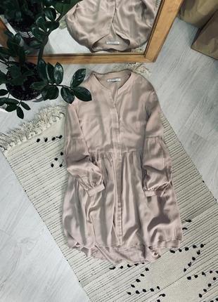 Плаття пудрового кольору від glamorous🌿
