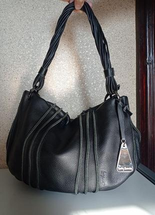 Betty barclay кожаная сумка. германия.
