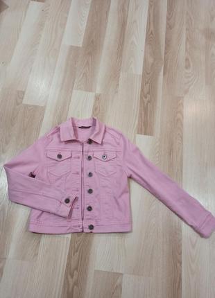 Джинсовий піджак, куртка