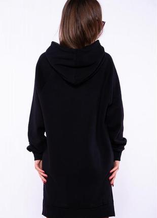 Женское  платье- туника  на флисе5 фото