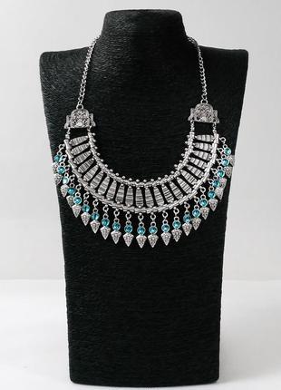Ожерелье в стиле бохо с подвесками