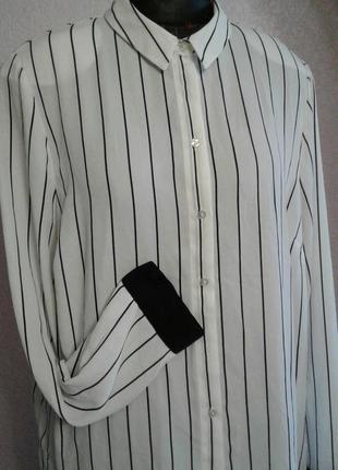 Блуза офисная размер 18