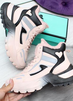 Кроссовки зимние, ботинки зимние