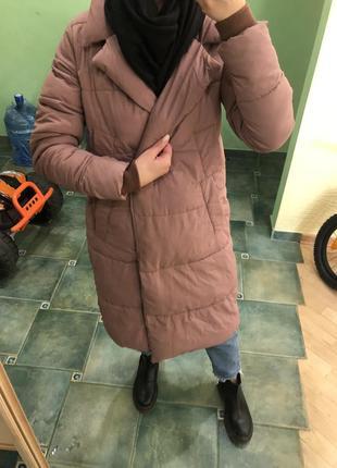 Зимняя куртка пуховик пальто