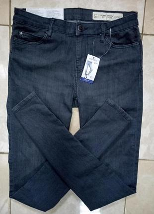 Серые мягкие джинсы skinny fit 38 евро германия esmara