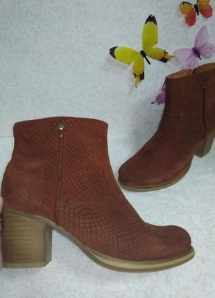 Кожаные ботинки maruti (марути)