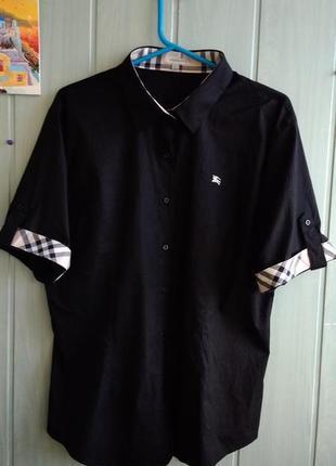 Стильная рубашка с коротким рукавом burberry