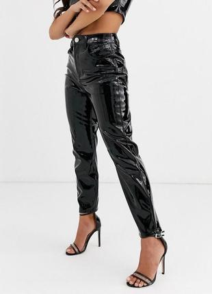 Вінілові брюки asos