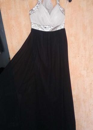 Вечернее платье в пол р.м