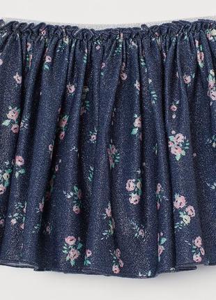 Нарядная юбка h&m размеры на 4-10 лет