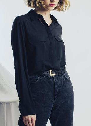 Шифоновая рубашка