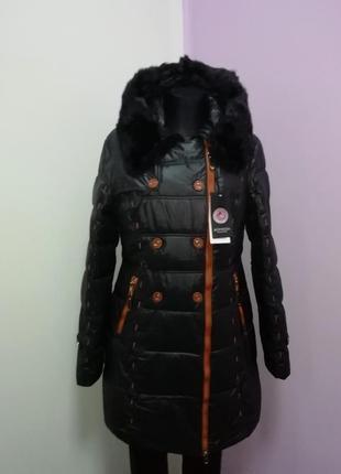 Зимние пальто, натуральный мех