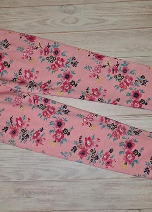 Домашние пижамные штаны nutmeg девочке 2-3, 3-4 года