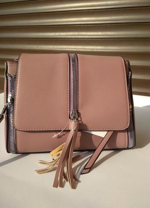Женская сумка с замочками