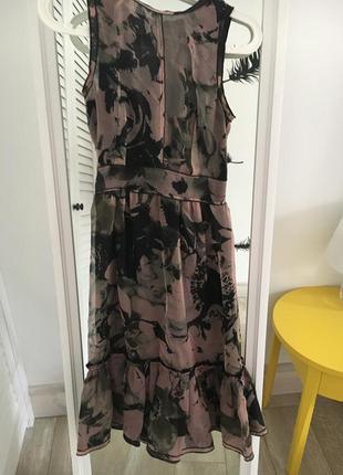 Летнее шелковое платье d&g