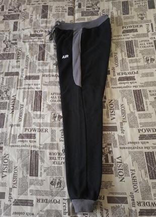 Штаны на манжете размер l