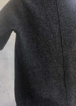 Zara свитер с коротким рукавом и высоким горлом