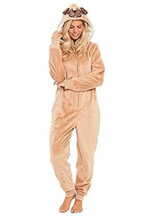 1+1=3 класнюча піжама-кігурумі. тепла. м'яка. від slumber hut на 9-10 років