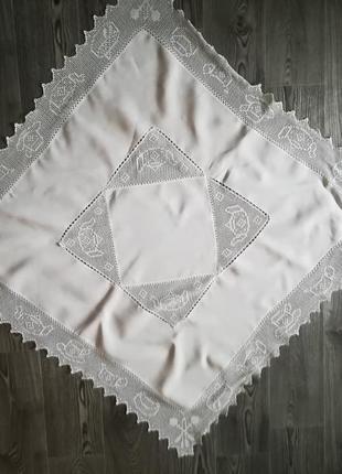 Скатерть,салфетка размер   99 х 96 см