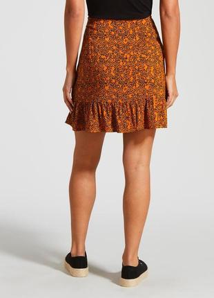Мини юбка с принтом papaya