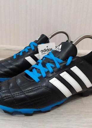 Футбольные бутсы сороконожки футзалки adidas