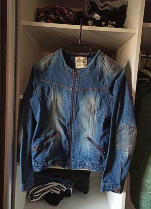 Джинсовка курточка пиджак