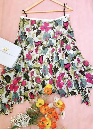 Элегантная шёлковая юбка betty jackson black, l-xl, 48-50, eur 42-44, uk 14-16.