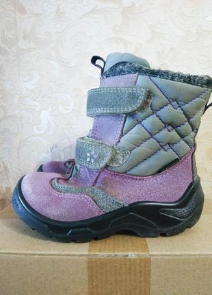 Зимние ботинки ecco gore - tex