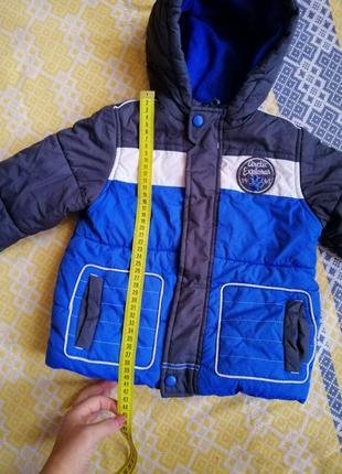 Куртка mothercare 2-3 г.